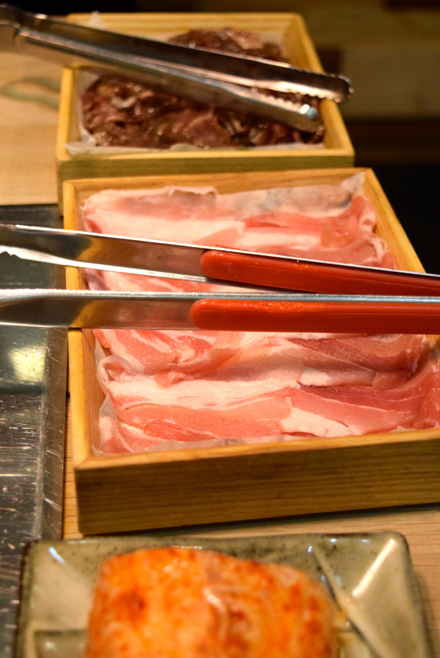 Raw Meats at SuperStar Korean Barbecue
