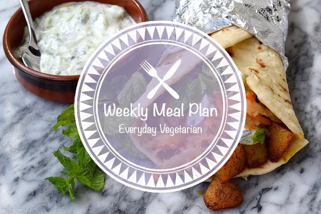 Weekly Meal Plan Everyday Vegetarian