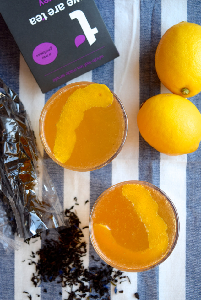 How To Make Earl Grey French 75's
