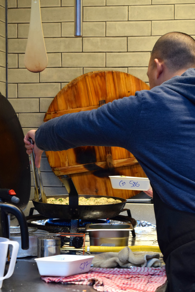 Steaming Soup Dumplings at The Kitchen at Old Spitalfields Market  #dumplingshack #streetfood #london #spitalfields