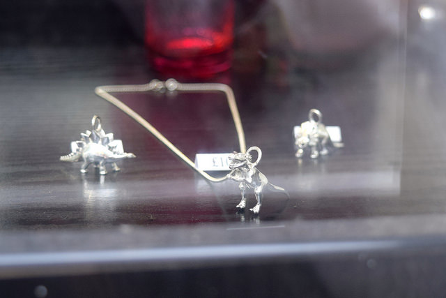 Dinosaur Pendants at 925 Silver, Canterbury #canterbury #silver #jewellery