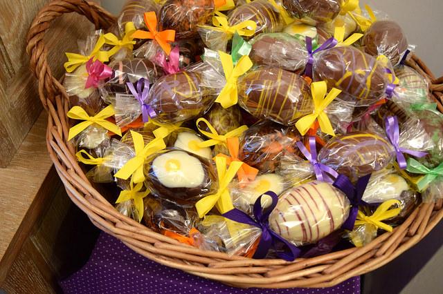Mini Easter Eggs at Madame Oiseau, Canterbury #chocolate #canterbury