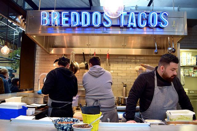 Breddos Tacos, The Kitchen at Old Spitalfields Market #breddostacos #streetfood #london #spitalfields