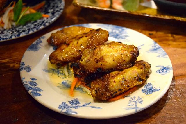 Lemongrass Chicken Wings at Vietfood, Chinatown #vietnamese #chinatown #london