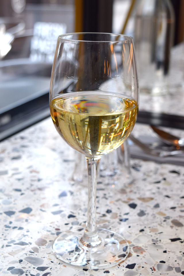 White Wine at Pastaio, Soho #pasta #pastaio #london