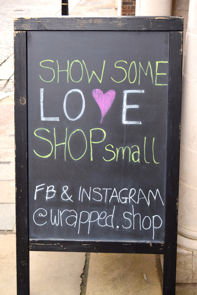Shop Local at Wrapped!, Canterbury