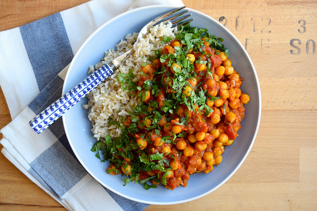 Chickpea Tikka Masala #vegan #indian #chickpea #curry #tikkamasala
