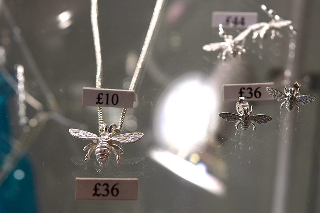 Insect Jewellery at 925 Silver, Canterbury #canterbury #silver #jewellery