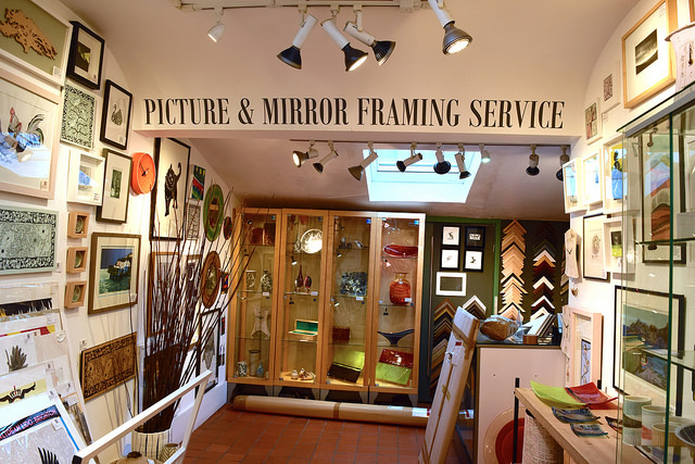 Picture Framing at Sowley, Canterbury