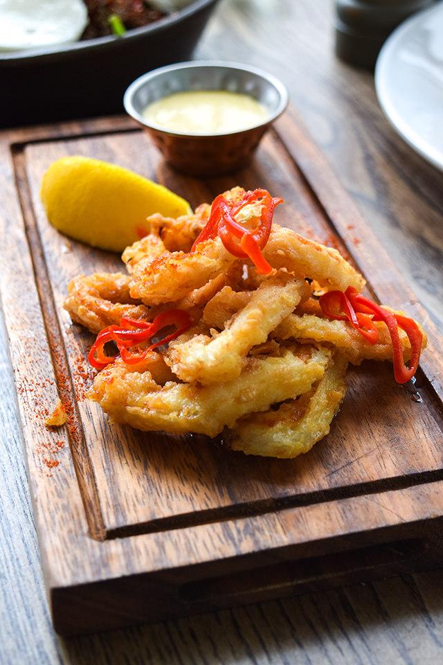 Calamari & Aioli at Deakins, Canterbury #calamari #lunch #canterbury