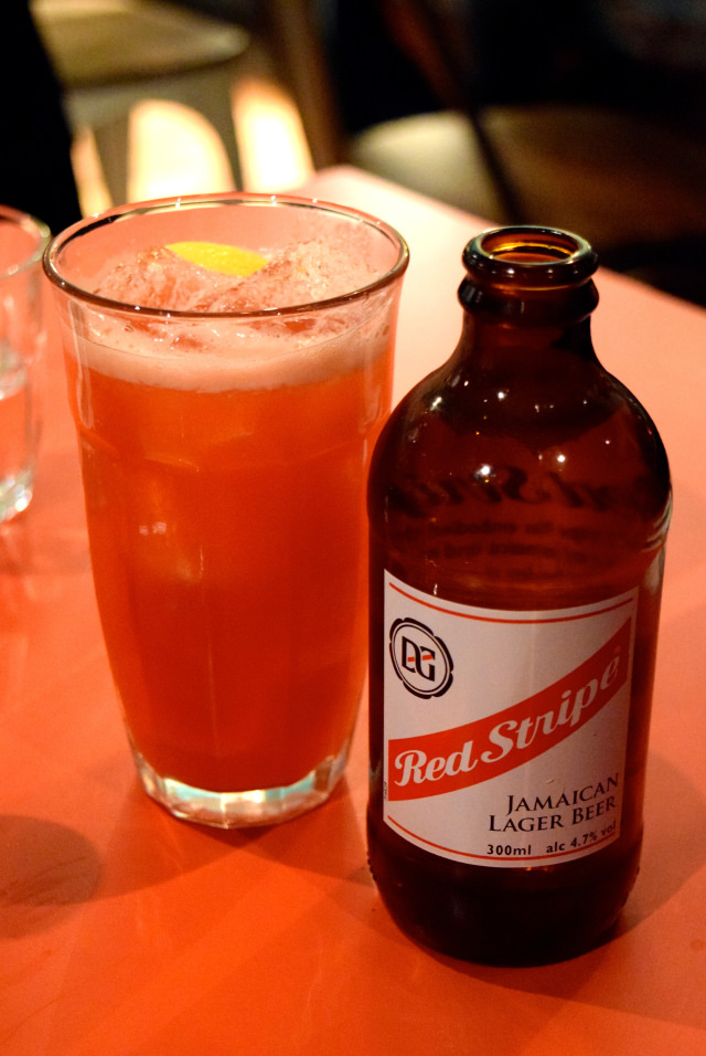 Red Stripe at Rum Kitchen, Notting Hill