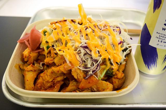 Mee Market BBQ Bowl #korean #london #soho