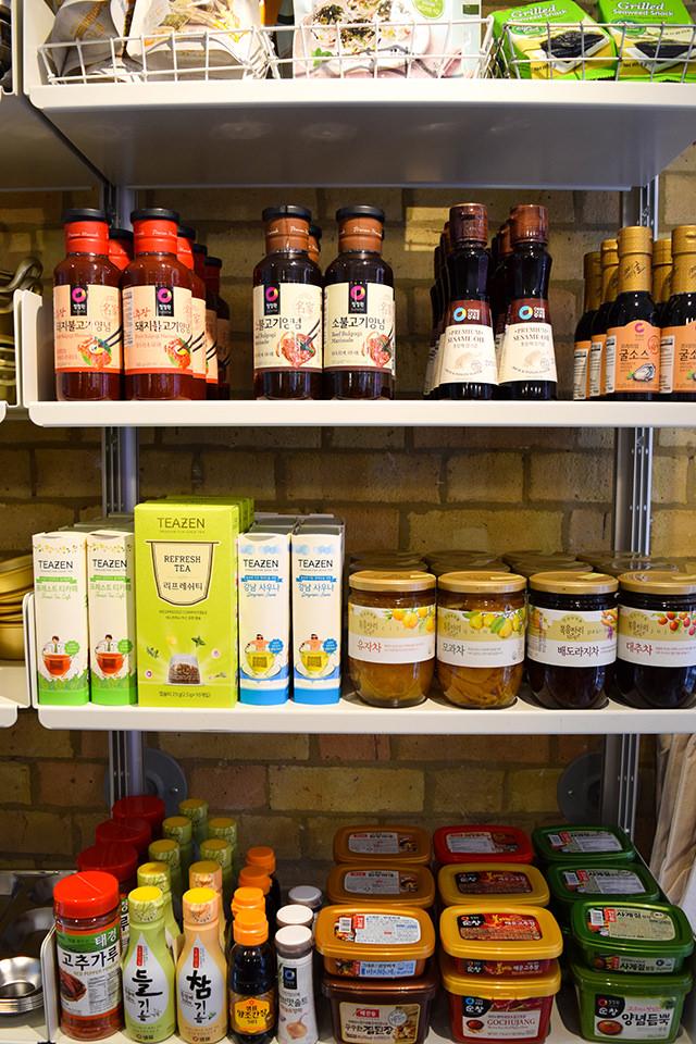 Korean Ingredients at Mee Market, Soho #korean #london#soho