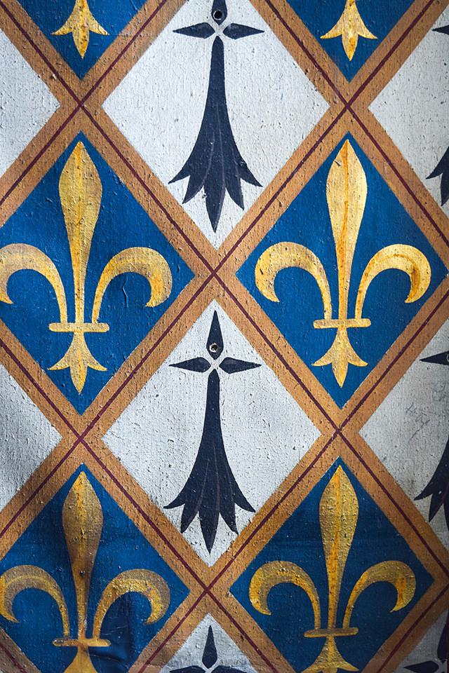 Fleur de Lis Details at Château de Blois #loire #france #chateau #travel