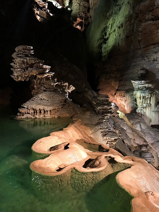 Underground Lakes at Padirac, Lot #padirac #caves #france #lot #travel #travelguide