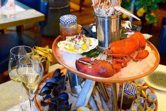 Half Lobster at Fancy Crab, Marylebone