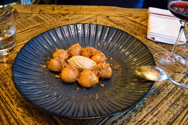 Greek Doughnuts at Hovarda, Soho #greek #turkish #london #soho doughnuts #icecream #cinnamon