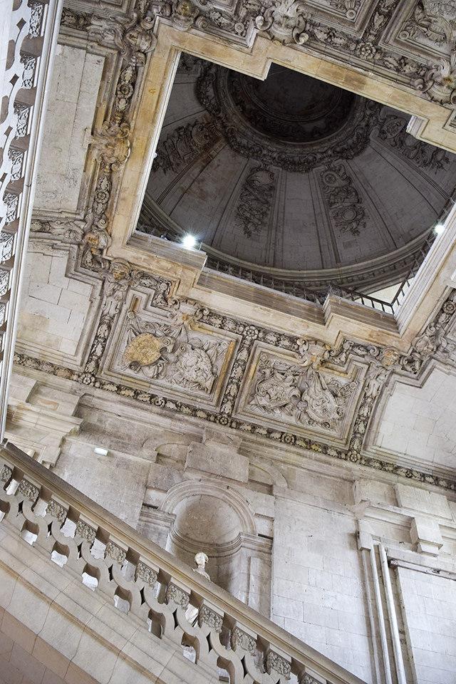 Vaulted Ceilings at Château de Blois #loire #france #chateau #travel