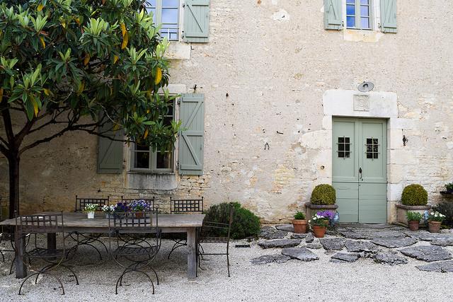 Outside Manoir de Malagorse, France #hotel #travel #france
