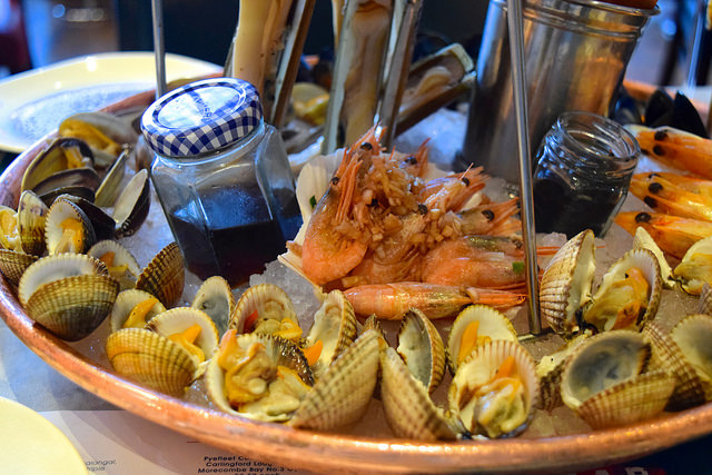 Clams & Whelks at Fancy Crab, Marylebone