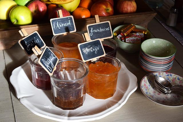 Homemade Jams at Manoir de Malagorse, France #jam #breakfast #hotel #travel #france