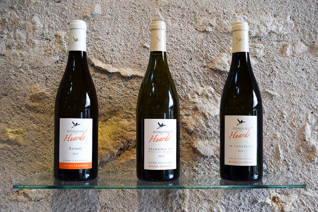 Organic Wines from Domaine des Huards, Loire Valley #loire #france #wine #winetasting #travel