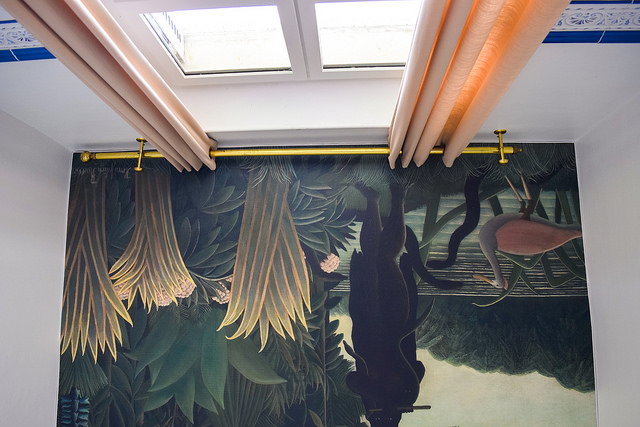 Bathroom Ceiling at Château les Muids #loire #france #travel