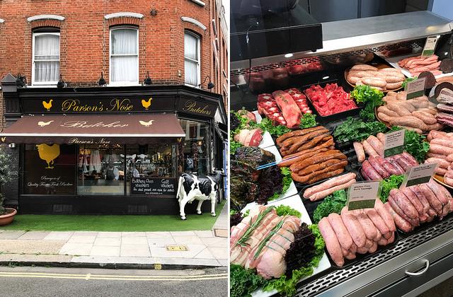 Parson's Nose, Parsons Green #butcher #sausages #parsonsgreen#london