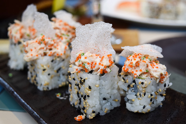 California Roll at Yashin Ocean House, Kensington #sushi #london #kensington