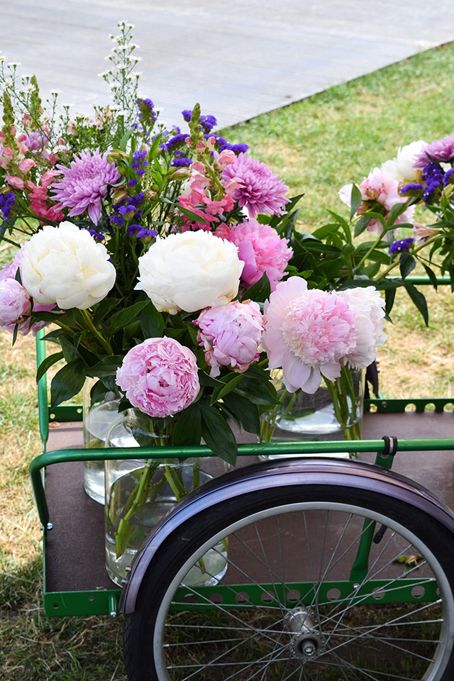 Peonies from Freddie's Flowers at Taste of London #flowers #peonies #tasteoflondon