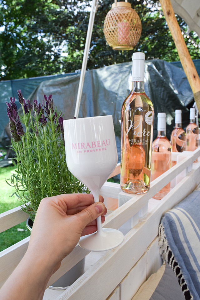 Mirabeau Rose at Taste of London #wine #rose #tasteoflondon