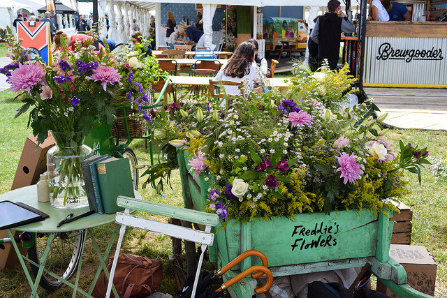 Freddie's Flowers at Taste of London #flowers #tasteoflondon