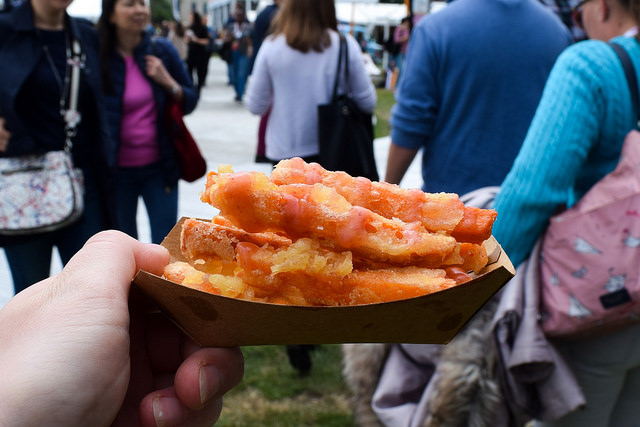 Bao Sweet Potato Fries with Plum Ketchup at Taste of London #sweetpotato #fries #sweetpotatofries #plumketchup #tasteoflondon