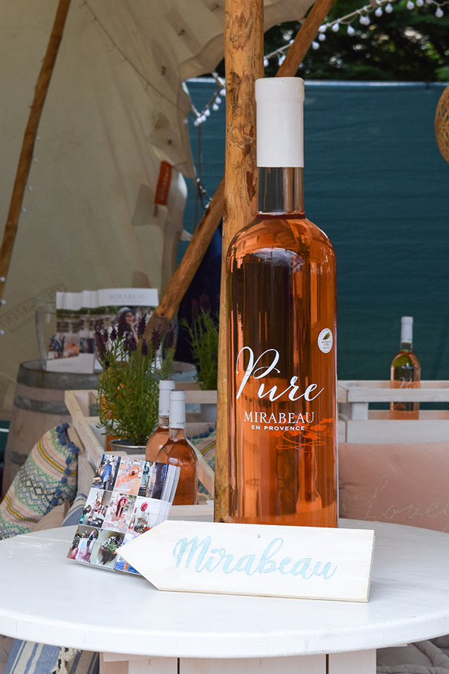 Mirabeau Pure at Taste of London #wine #rose #tasteoflondon