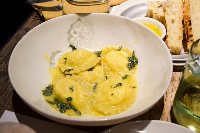 Ricotta Ravioli at La Goccia, Covent Garden #pasta #ravioli #ricotta #coventgarden #london