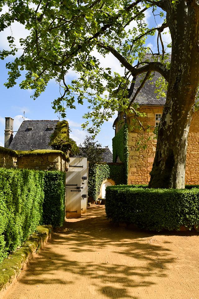 Driveway at the Jardins de Eyrugnac #gardens #eyrugnac #dordogne #france #travel