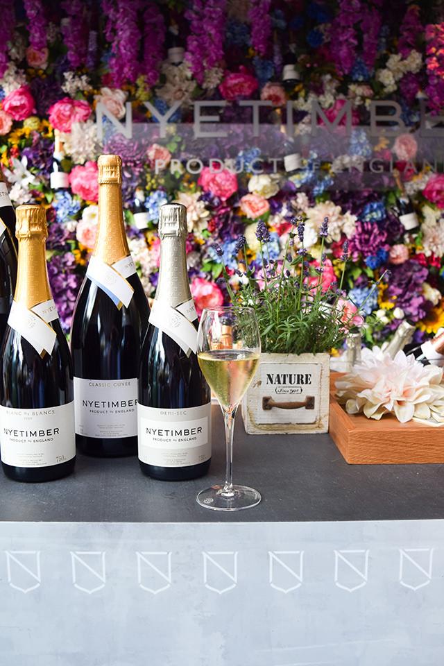 Nyetimber Summer Terrace at Angler, Moorgate #nyetimber #englishsparklingwine #london #wineterrace #bar