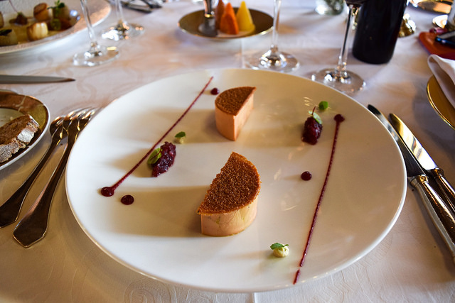 Foie Gras at Chateau de la Treyne