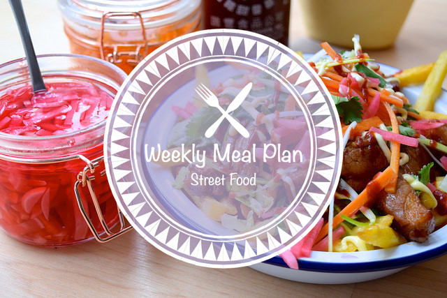 Weekly Meal Plan Street Food