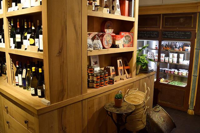 Wine Store at La Goccia, Covent Garden #wine #deli #coventgarden #london