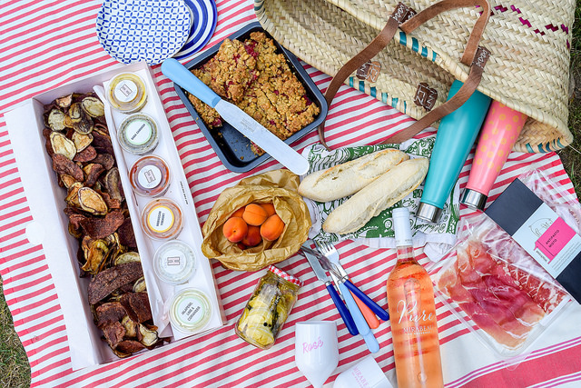 A French Picnic In The Park at Bishops Palace