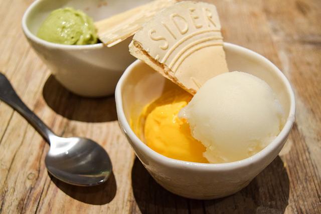 Sorbet and Gelato at La Goccia, Covent Garden #sorbet #gelato #dessert #coventgarden #london