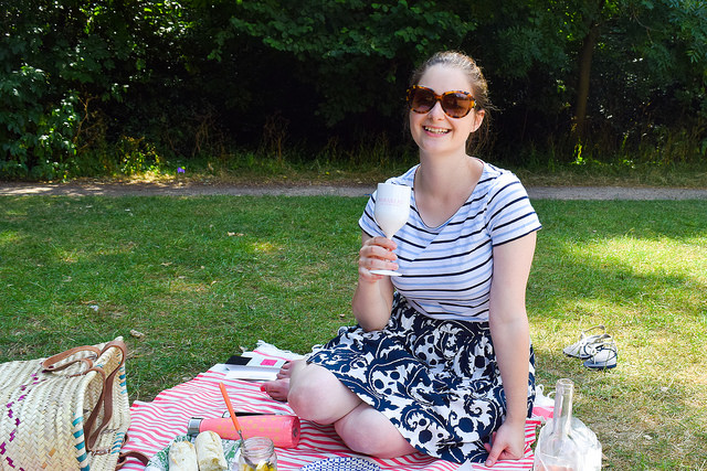 A French Picnic In The Park in Fulham