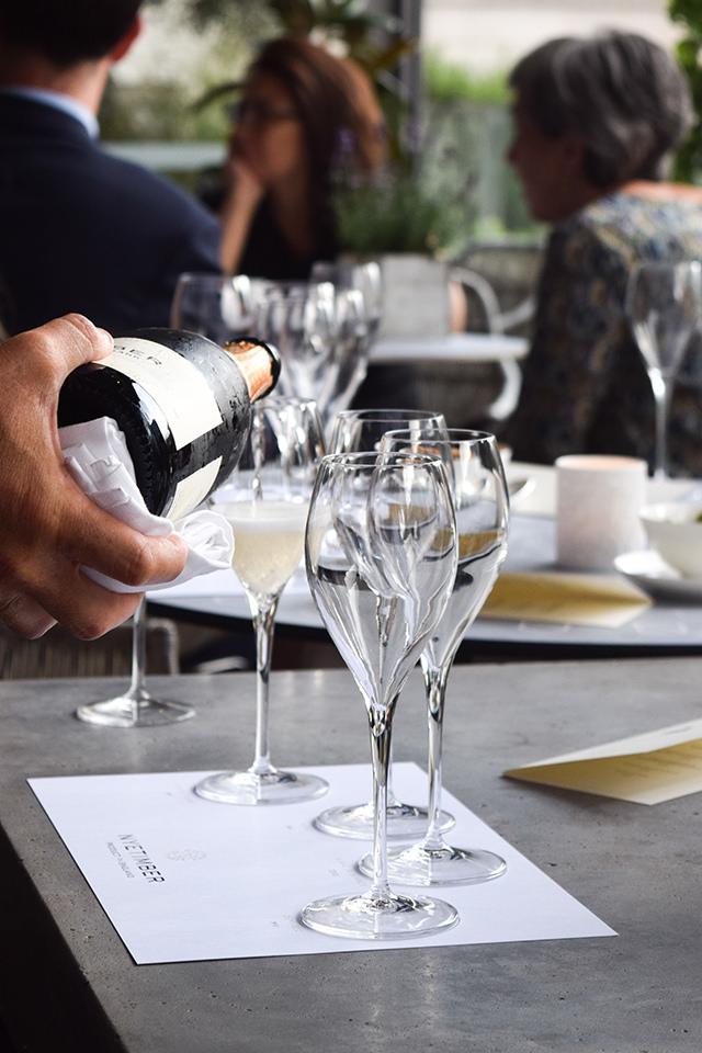 Exploring Nyetimber English Sparkling Wine at Angler, Moorgate #nyetimber #englishsparklingwine #london #wineterrace #bar