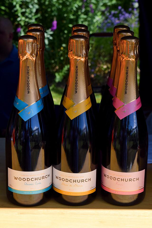 Woodchurch English Sparkling Wine at Wealden Literary Festival 2018