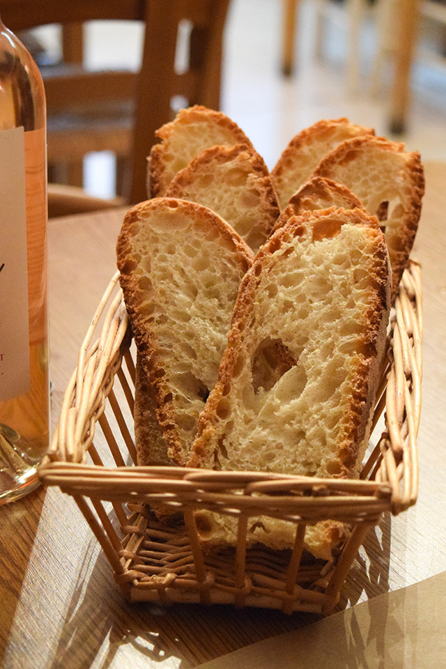French Bread at La Petite Borie, Sarlat #bread #sarlat #france #dordogne #perigord