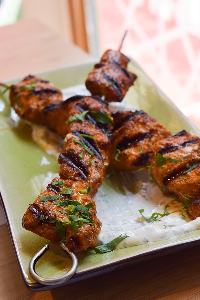 Chicken Shish at Ceru, Soho
